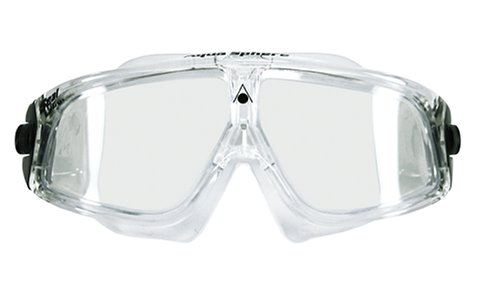 Aqua Sphere Seal Swim Mask (Clear - Transparent Swimming Goggles