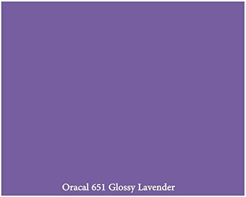 "Oracal 651 Starter Pack 61 Glossy Self Adhesive Vinyl Sheets 12/"" x"
