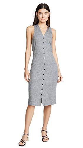 (Rag & Bone/JEAN Women's Mac Midi Tank Dress, Heather Grey, Small)
