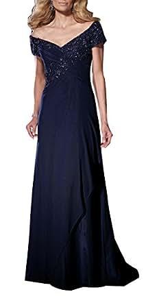 Amazon.com: Butterfly Paradise Prom Dresses Chiffon Mother