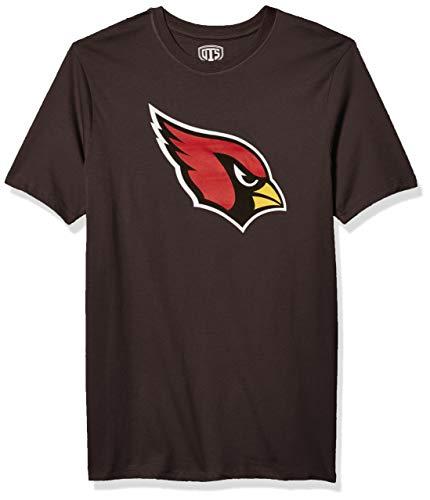 OTS mens Rival Tee NFL Large, Charcoal Arizona Cardinals,