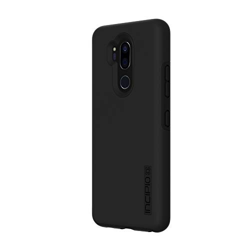 Incipio DualPro LG G7 ThinQ Case with Shock-Absorbing Inner Core & Protective Outer Shell for LG G7 ThinQ - Black/Black (Tablet Incipio Lg Case)