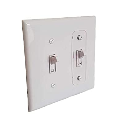 Toggle Switch Light Switch Locks, Child-Safe, Residential, Lighting, Ect.