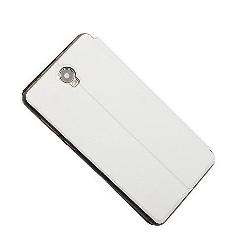 cubot max Funda carcasa / caso / case, KuGi ® cubot max Funda- BW estilo de alta calidad caja ultrafina de la PU del soporte para cubot max teléfono inteligente.?Blanco? blanco
