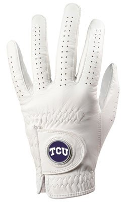 TCU Horned Frogs Golf Glove & Ball Marker - Left Hand - Medium (Horned Tcu Frogs Golf)