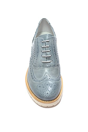Nero Giardini - Zapatos de cordones para mujer azul turquesa