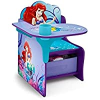 Disney Little Mermaid Chair Desk with Storage