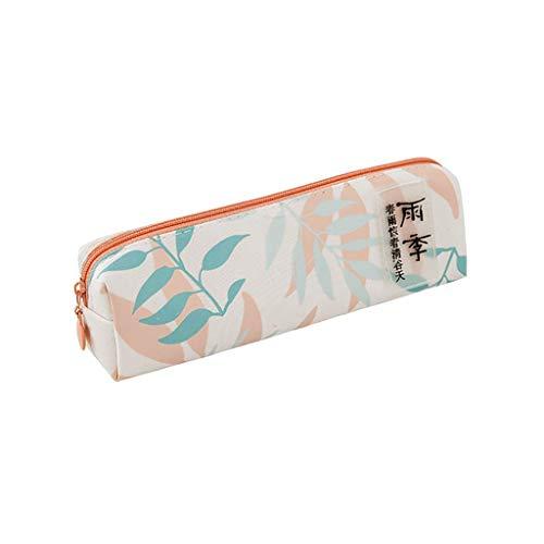 (Pencil Pen Case Cosmetic Makeup Bag Storage Pouch Purse Students School)