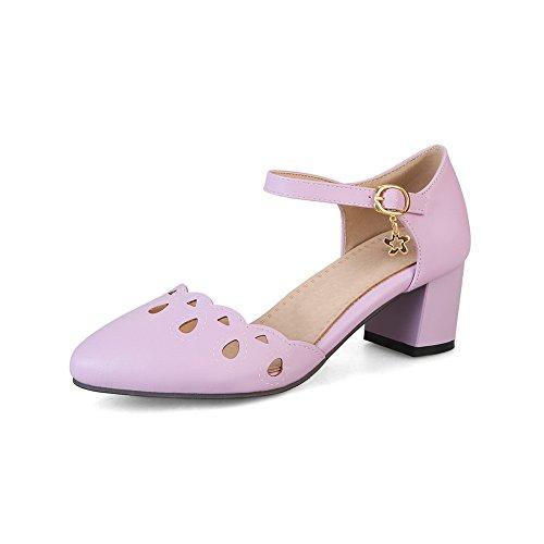 36 5 BalaMasa Sandales Violet Violet Compensées Femme 74aHv4q