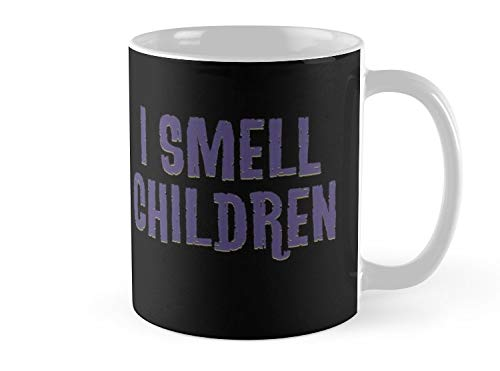 Army Mug I Smell Children Funny Halloween Witch Costume Witches - 11oz Mug - Features wraparound prints - Dishwasher safe - Made from Ceramic - Best gift for family friends ()
