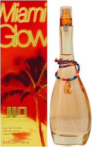 J.Lo Miami Glow Eau de Toilette Spray for Women, 3.4 Fluid Ounce