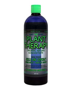 Lost Coast Plant Therapy 32 oz - Natural Miticide, Fungicide, Insecticide, Kills on Contact Spider Mites, Powdery Mildew  (Best Pesticide For Spiders)