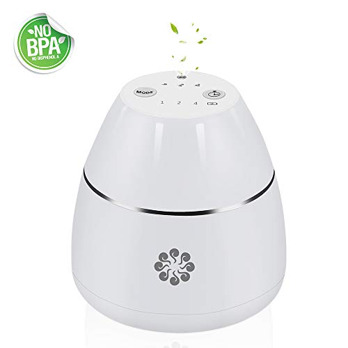 Caseceo Essential Oil Aroma Diffuser Waterless & Wireless Nebulizer