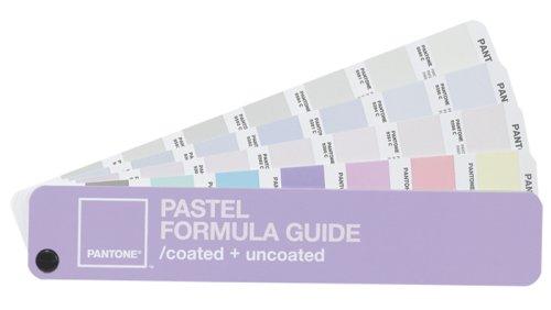 Pantone Pastel Formula Guide Coated + unCoated by Pantone