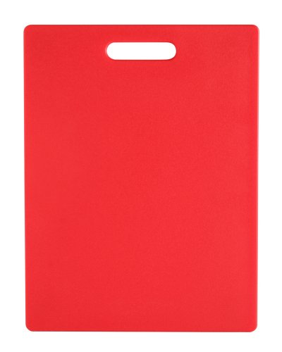 Dexas Classic Jelli Cutting Board with Handle, 8.5 by 11 inches, Red