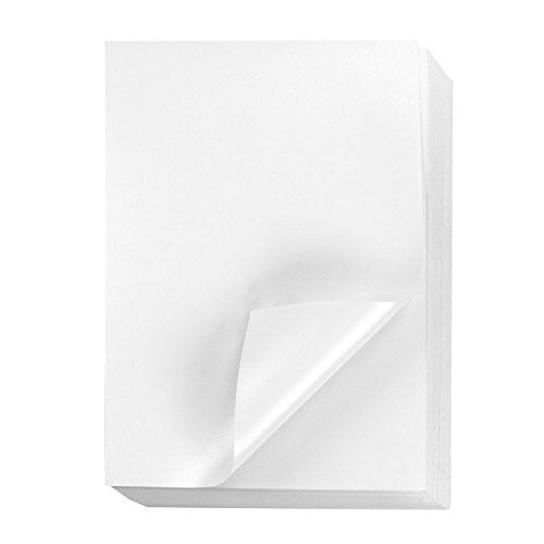 Paper Program Printable (Shimmer Paper – 96-Pack White Metallic Cardstock Paper, Double Sided, Laser Printer Friendly - Perfect for Weddings, Baby Showers, Birthdays, Craft Use, Letter Size Sheets, 8.7 x 0.03 x 11 Inches)