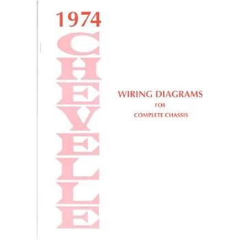 1974 chevrolet chevelle wiring diagrams schematics