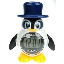 Reflex Penguin Digital Talking Alarm Clock 908-3102