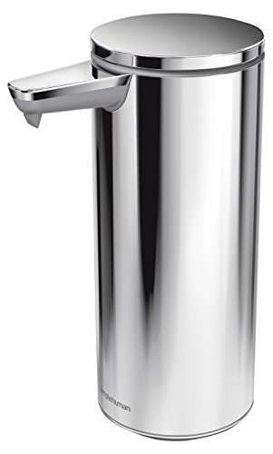 simplehuman 9 oz Sensor Pump, Polished Stainless Steel by simplehuman (Image #1)