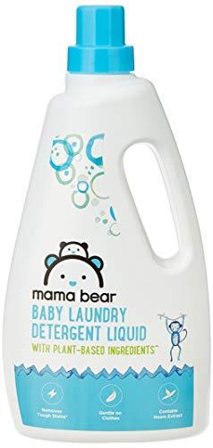 Amazon Brand – Mama Bear Plant Based Baby Laundry Detergent Liquid – 1 L