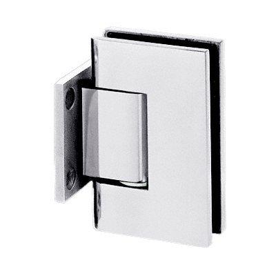 3800122 - CRL Chrome Anaheim Wall Mount Short Back Plate Shower Door Hinge