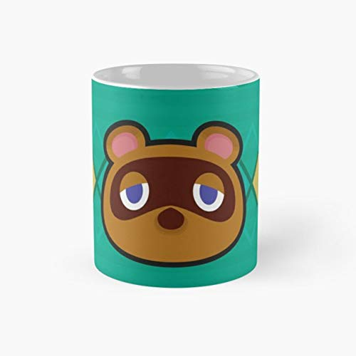 TOM NOOK ANIMAL CROSSING Mug, tom nook Tea Cups, 11 Ounce Ceramic Mugs, Perfect Novelty Gift Mug, Funny Gift Mug, Funny Coffee Mug 11oz, Tea -