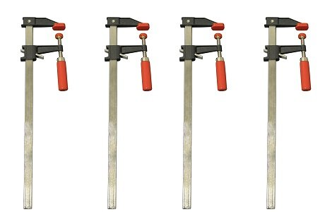 Bessey GSCC2.536 2.5-Inch x 36-Inch Economy Clutch Style Bar Clamp (4-(Pack))