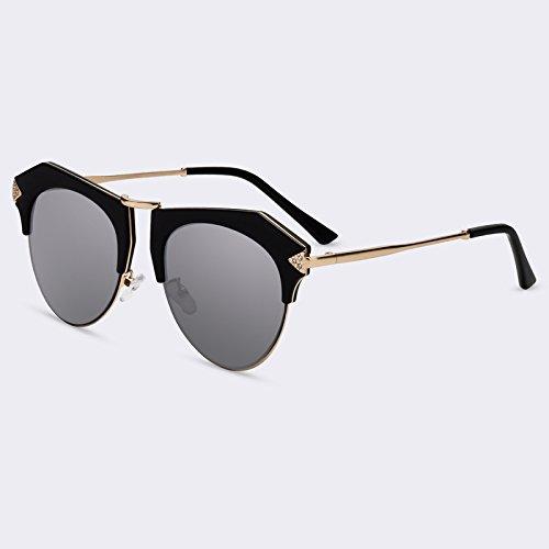 espejo sol ojo de C04Mirror de Gafas Forma de Nueva TIANLIANG04 sombras UV400 gato de C04Espejo gafas de de lujo p46Fx