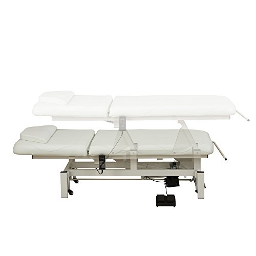 BEAUTY SALON SPA ELECTRICAL FACIAL BEAUTY BED SPA MASSAGE ALL PURPOSE DOCTOR'S RECLINING WORKING BED - MAR EGEO