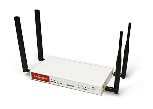 Accelerated Modular 6350-SR LTE Router with Wi-Fi and Integr
