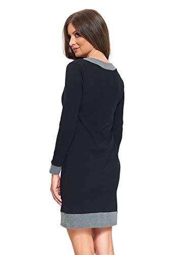 Tailles grey Alina Amyline Robe S Xl D'allaitement Black 7qwSBx1
