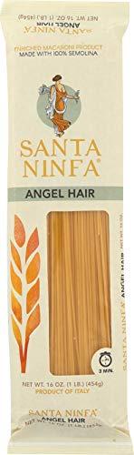 - Santa Ninfa Capellini Angel Hair Italian Pasta, 1 Pound (Pack of 12)
