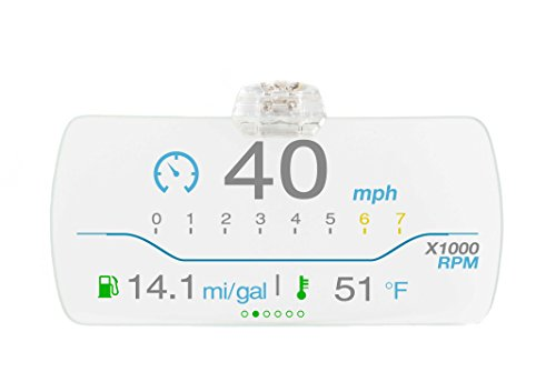 Hudly - The Only Head Up Display to Project Your Phone to Your Windshield - Get Your Speed, RPM, Google Maps, Texts, and Calls Right in Front of You - iPhone-CL by Hudly