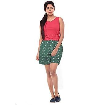 EASY 2 WEAR ® Women Elasticated Drawstring Shorts - Polka Dots - Sizes (XS to 4XL)