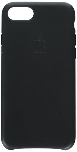 Apple iPhone 8/7 Leather Case - Black