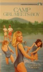 book cover of Camp Girl-Meets-Boy