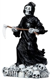 Lemax Spooky Town Halloween Deadly Grim Reaper 12890 (Halloween Accessories Sale)