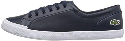 Lacoste Women's Lancelle Bl 1 Shoe, Navy, 6.5 M US