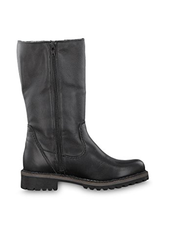 1 Wool 23 Boots Comb In Tamaris Cafe Winter Reiterpotik Black Lined 385 26432 AwX8qFY6