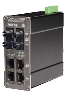 N-tron Ethernet Switch 106FX2-ST
