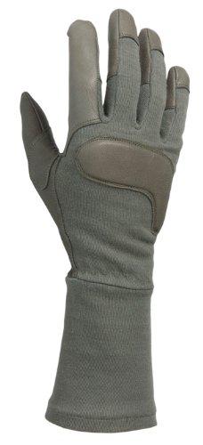 ACK, LLC HWI Gear Long Gauntlet Combat Glove, Medium, Foliage Green