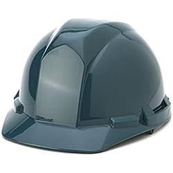 Mutual 50100 Polyethylene 4-Point Pin Lock Suspension Hard Hat, Green