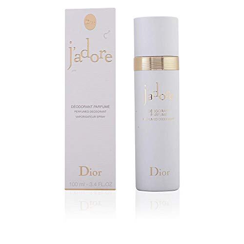 J'adore by Christian Dior Perfumed Deodorant Spray for Women, 3.4 Ounce / 100 ml