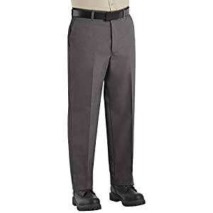 Red Kap Men's Wrinkle-Free Regular Fit Twill Blend Work Pants