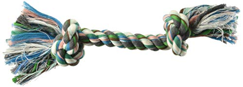 Knot 3 Rope Booda (Aspen/Booda Corporation DBX50774 2-Knot Rope Bone Dog Toy, X-Large)