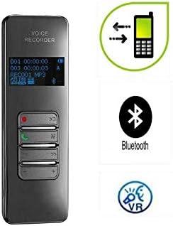 Grabadora De Voz Espia Voz Digital Mini Audio inal/ámbricas con Bluetooth Soporte for grabaci/ón de Llamadas telef/ónicas Protecci/ón con contrase/ña for grabaci/ón Conferencia