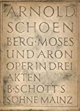 Moses and Aron - Vocal Score (4935)