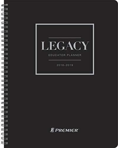Premier Legacy Planificador semanal para profesor, August 2018 a 2019