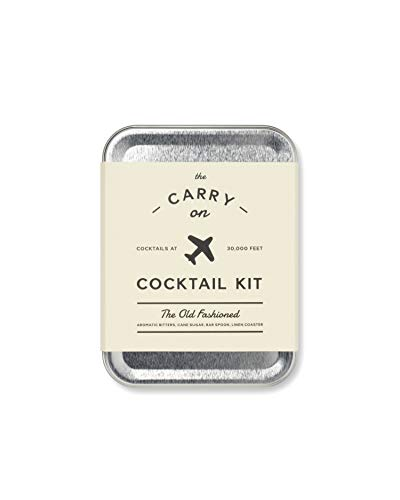 Whisky Old Fashioned - W&P MAS-CARRY-KIT Carry on Cocktail Kit, Old Fashioned Travel Kit for Drinks on the Go, Craft Cocktails,  TSA Approved