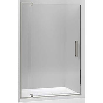 KOHLER 707546-L-BNK Revel Shower Door, Crystal Clear Glass